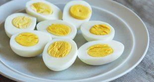 تخممرغ را آبپز شده بخورید