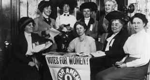 یک فنجان چای برای حق رأی زنان