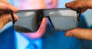 عینکی که تصاویر مزاحم نمایشگرها را سیاه نشان می دهد