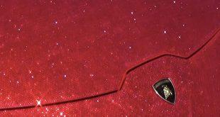 1.3 میلیون قطعه الماس بر روی لامبورگینی (+عکس)