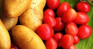 کاهش قیمت گوجه و سیب زمینی در بازار