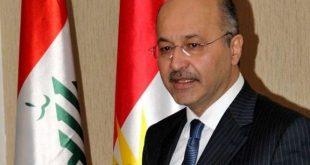برهم صالح: آمریکا باید نگاه ویژه به عراق در رابطه با تحریمهای ایران داشته باشد
