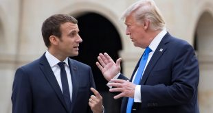 حمله مجدد ترامپ به ماکرون به خاطر ارتش اروپایی