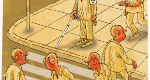 کاریکاتورهای روز جهانی عصای سفید