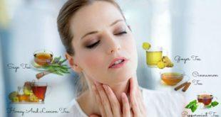 ۱۲ درمان خانگی برای درمان گلودرد