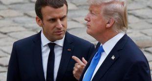 ترامپ: معترضان فرانسوی شعار میدهند ترامپ را میخواهیم!