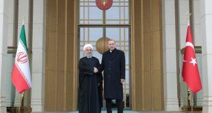 استقبال رسمی اردوغان از روحانی/ تصاویر