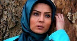 عکس بیهوای خانم بازیگر در یک روز سرد