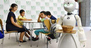 کافه ژاپنی افراد فلج را به عنوان پیشخدمت استخدام میکند (+تصاویر)