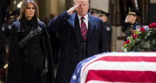 """مراسم تشییع جنازه """"جورج بوش پدر"""""""