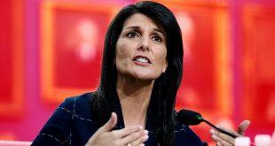 نیکی هیلی:سازمان ملل مکان خشنی است/  روسیه و چین مایه نگرانیاند