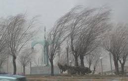 وزش باد با سرعت 79 کیلومتر در اردبیل