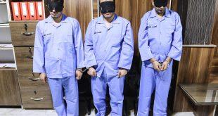 بازداشت ۳سارق مسلح طلافروشی در مشهد