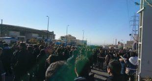 تجمع اعتراضی دانشجویان با شعار مسئول بی کفایت استعفا استعفا