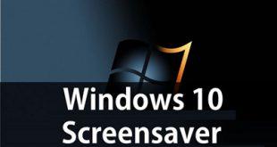 چگونه در ویندوز 10 اسکرین سیور را فعال کنیم؟