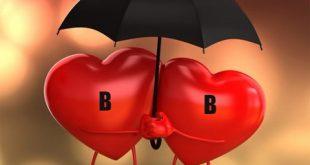 کارت پستال حرف B