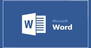 چگونگی انتخاب و حذف متن در مایکروسافت ورد