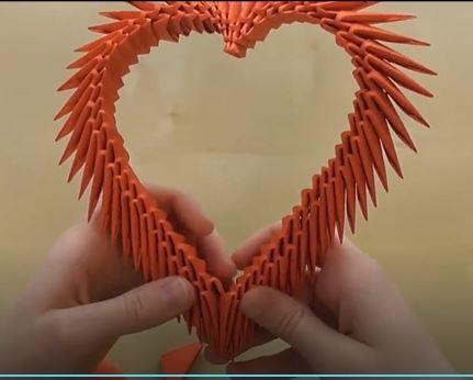 خرید فیلم آموزش اوریگامی قلب