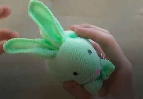 ساخت کاردستی خرگوش