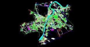 دانلود نقشه اتوکد شهر اهواز