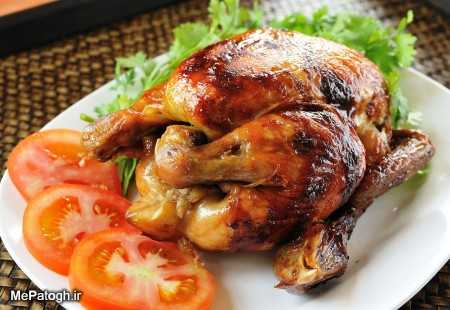 طرز تهیه مرغ داخل فر و بدون فر