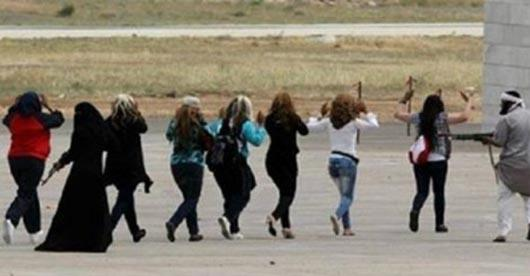 Photo of فیلم دستگیری داعش در لباس زنانه