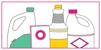 ترکیبات خطرزای تمیز کننده ها