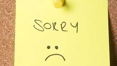 چرا باید «عذرخواهی کردن» را یاد بگیریم؟!