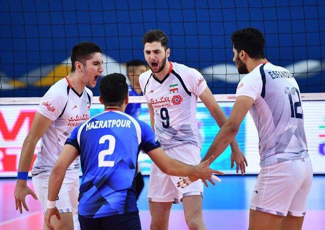 والیبال جوانان ایران حریف قطر در فینال جام کنفدراسیونهای آسیا شد
