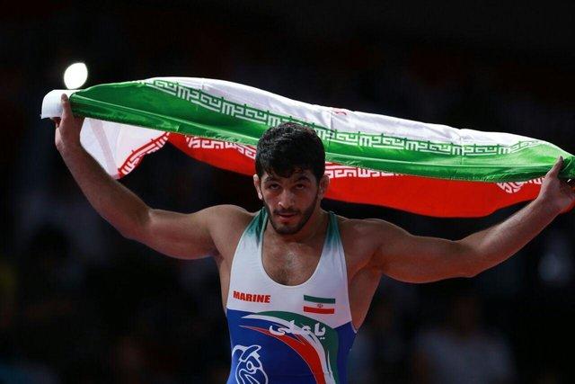 «حسن یزدانی» اولین طلایی کاروان ایران؛ ضربه فنی در یک دقیقه و ۲۹ ثانیه