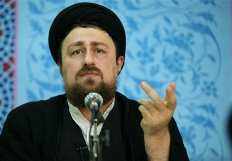 سید حسن خمینی: شاید خیر «انسجام دوباره فرزندان انقلاب» در شرّ دشمنی های خارجی نهفته باشد