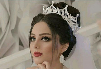 مدل مو عروس با تاج ملکه ای و فرحی جدید 2018