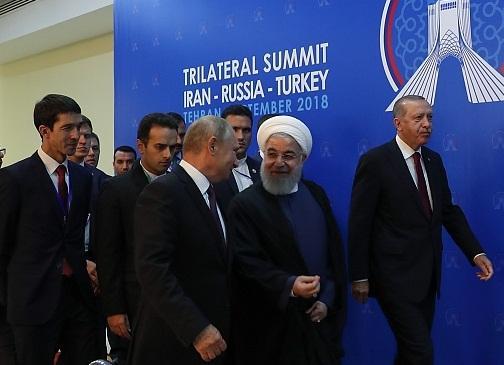بیانیه مشترک سران در پایان اجلاس سه جانبه تهران