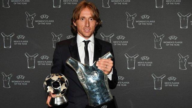 مودریچ: امسال بهترین سال دوران فوتبالم بود