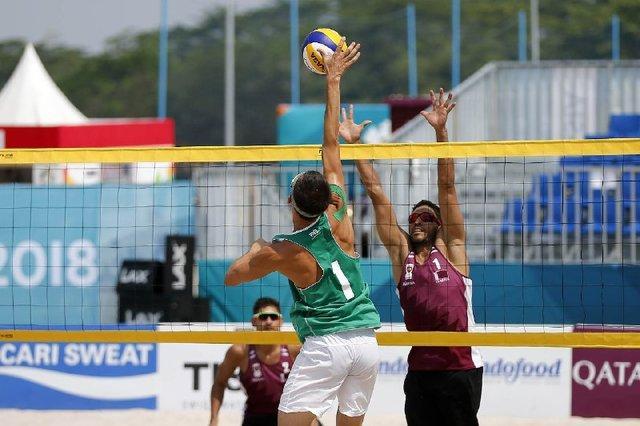 نایب قهرمانی والیبالیست های ساحلی ایران در قهرمانی آسیا