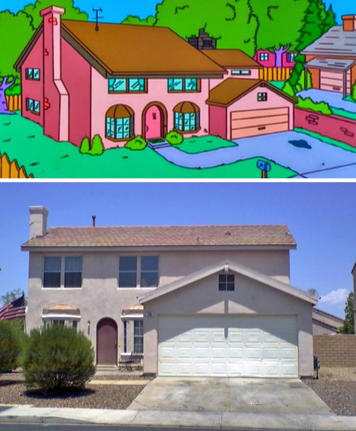 خانه های کپی برداری شده از کارتون ها/ تصاویر