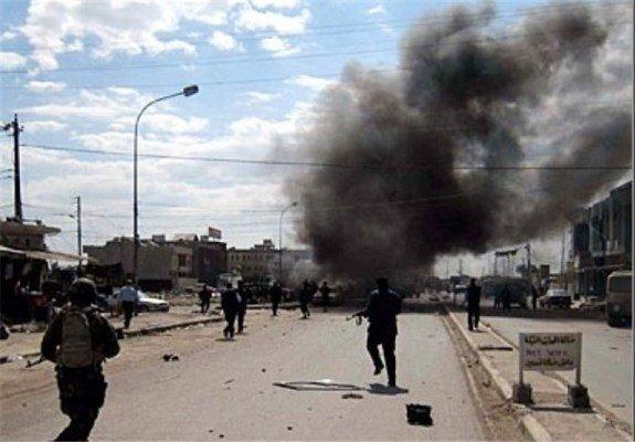 Photo of وقوع انفجار در نزدیکی سفارت آمریکا در منطقه سبز بغداد