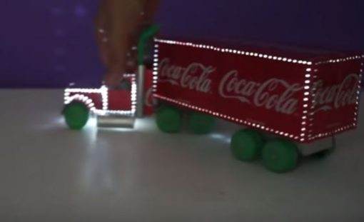 کامیون کریسمس نورانی