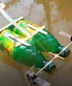 ساخت یک قایق اسباب بازی
