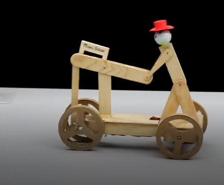 ربات متحرک دوچرخه سوار