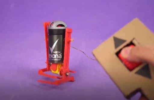 خرید فیلم آموزش ساخت ربات قدم زن