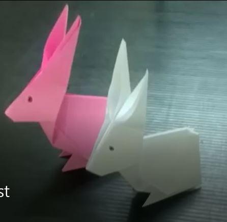 تبدیل کاغذ ساده به خرگوش