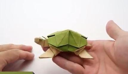 اوریگامی لاک پشت