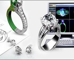 مدلسازی طلا و جواهر