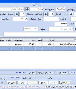 ساخت نرم افزار جامع حسابداری و انبارداری با سی شارپ