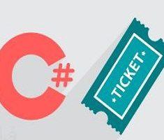 آموزش پروژه محور سی شارپ (C#)، پیاده سازی سیستم صدور بلیط
