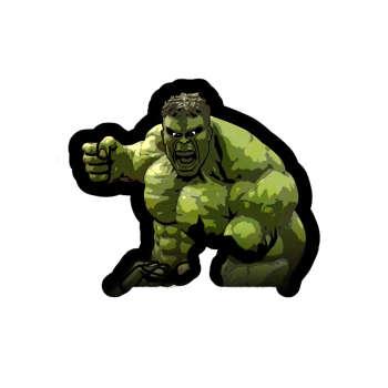 Photo of استیکر لپ تاپ طرح Hulk Marvel کد STL993
