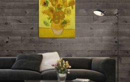 تابلو شاسی طرح گل های آفتابگردان کد ART-1122_5da17da37ec85.jpeg