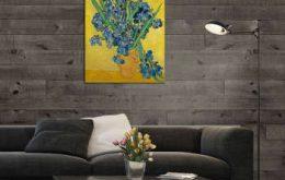 تابلو شاسی طرح گل های زنبق کد ART-1120_5da17dd5e8fdd.jpeg
