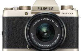 دوربین دیجیتال بدون آینه عکاسی فوجی فیلم مدل X-T100 همرا با لنز XC 15-45mm                             Fujifilm X-T100 mirrorless digital Camera with XC 15-45mm Lens_5d95d2fd28c31.jpeg